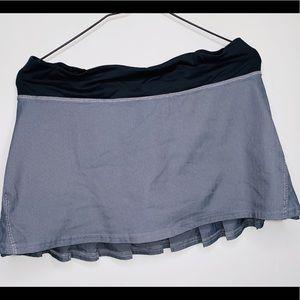 Lululemon Pace Setter Lined Running Skirt - Sz-8/M